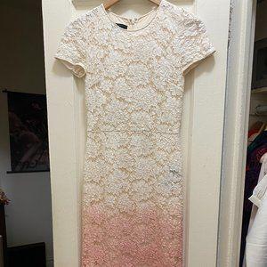 Burberry Ombre Evening Dress